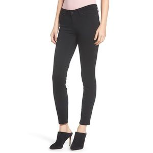 PAIGE Verdugo Ultra Skinny Jeans in Black Shadow